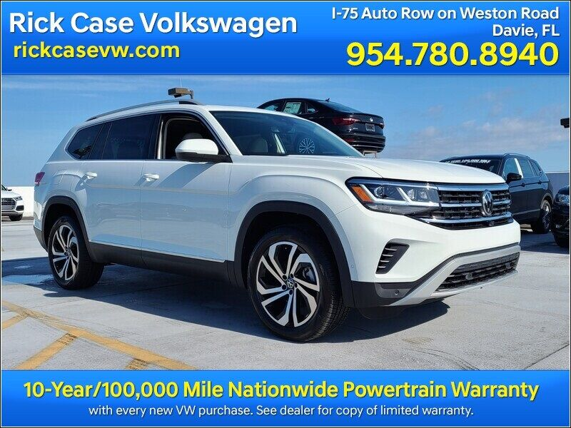 2021 Volkswagen Atlas SEL Premium 4Motion 2021.5 Davie FL