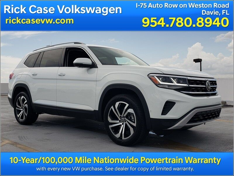 2021 Volkswagen Atlas SEL Premium 4Motion Davie FL