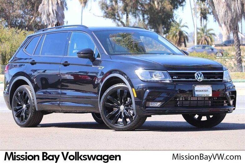 2021 Volkswagen Tiguan 2.0T SE R-Line Black San Diego CA