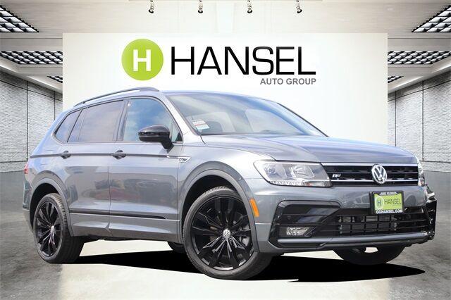 2021 Volkswagen Tiguan 2.0T SE R-Line Black Santa Rosa CA