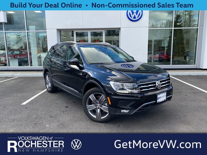 2021 Volkswagen Tiguan 2.0T SEL 4Motion Rochester NH
