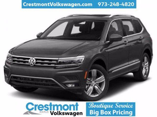 2021 Volkswagen Tiguan 2021 VOLKSWAGEN TIGUAN 2.0T S (A8) 4DR SUV 109.8 WB AWD Pompton Plains NJ
