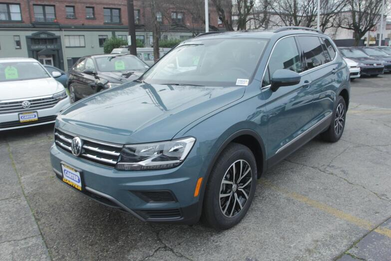 2021 Volkswagen Tiguan SE w/Moonroof/3rd Row Seattle WA