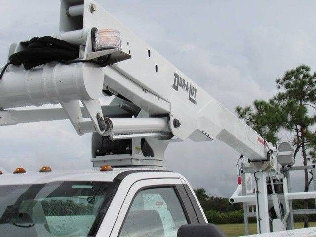 2022 Ford F-450XL Dur-A-Lift DCP-36TS Cable Placer / Cable Puller / Bucket Truck Homestead FL