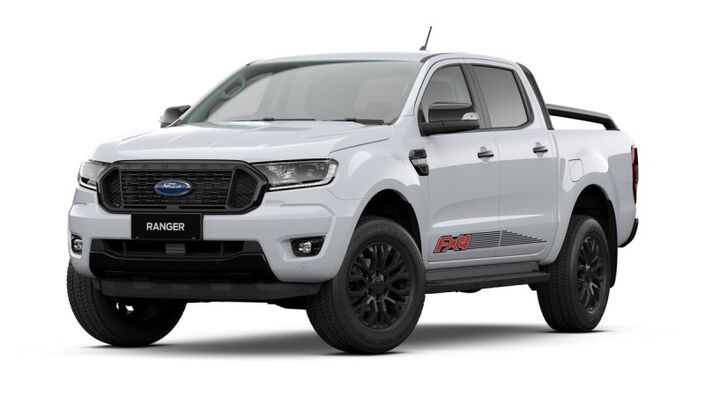 2022 Ford RANGER FX4 2.2L TURBO DIESEL 4WD 6-SPEED AUTOMATIC TRANSMISSION DOUBLE CAB Vaitele