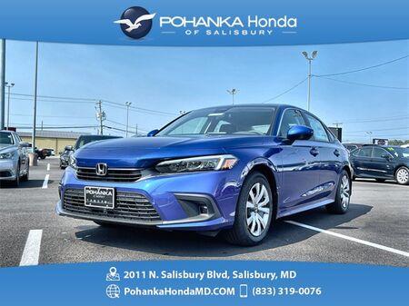 2022_Honda_Civic_LX_ Salisbury MD