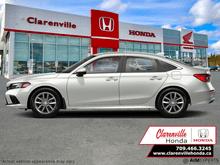 2022_Honda_Civic Sedan_EX  - Sunroof -  Android Auto - $210 B/W_ Clarenville NL