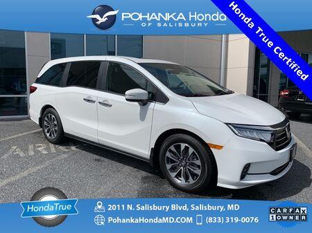 2022_Honda_Odyssey_EX-L ** Honda True Certified 7 Year / 100,000 **_ Salisbury MD