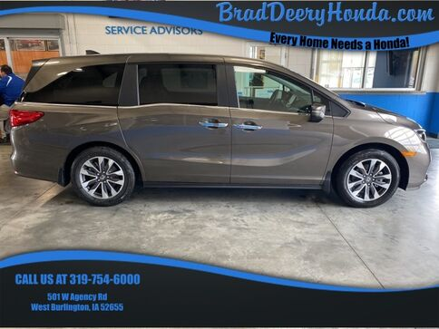 2022_Honda_Odyssey_EX-L_ West Burlington IA