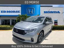 2022_Honda_Odyssey_Elite_ Delray Beach FL