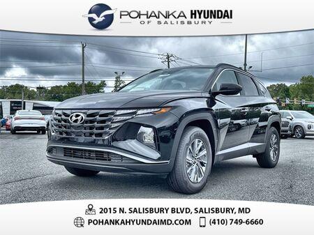 2022_Hyundai_Tucson Hybrid_Blue_ Salisbury MD
