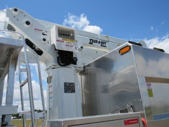 2022 International CV515 Dur-A-Lift DTAX-45FP Urban Forestry Bucket Truck (Diesel) Homestead FL
