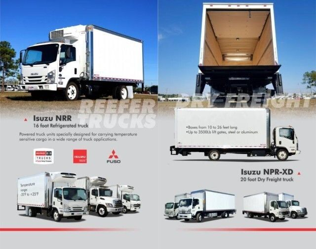 2022 Isuzu NPR-XD 13' BABCO Aluminum Landscape Dump Truck with tunnel box Homestead FL