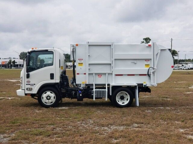 2022 Isuzu NRR 10 Yard Side Loader Refuse Garbage Truck Homestead FL