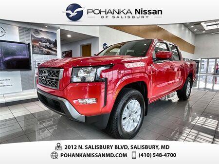 2022_Nissan_Frontier_SV_ Salisbury MD