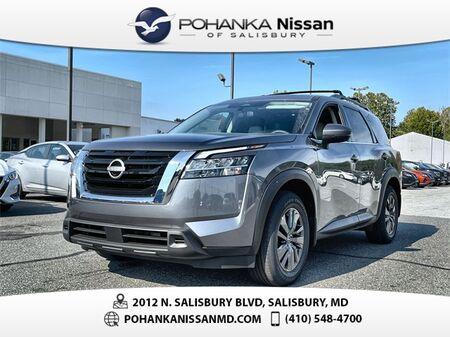 2022_Nissan_Pathfinder_SV_ Salisbury MD