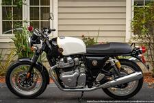 2022 Royal Enfield Continental GT 650 Dux Deluxe
