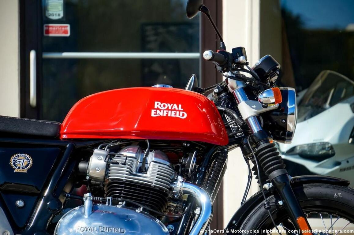 2022 Royal Enfield Continental GT 650 Rocker Red Boxborough MA