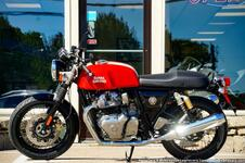 2022 Royal Enfield Continental GT 650 Rocker Red