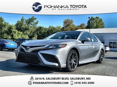 2022_Toyota_Camry Hybrid_SE_ Salisbury MD