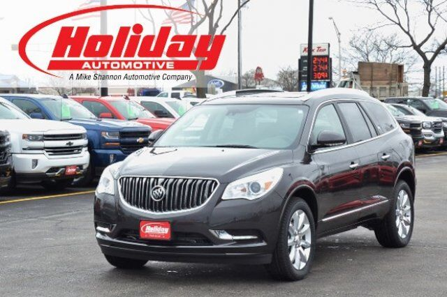 vehicle details 2017 buick enclave at holiday automotive fond du lac holiday automotive. Black Bedroom Furniture Sets. Home Design Ideas