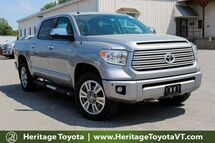 2017 Toyota Tundra Platinum South Burlington VT