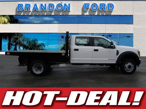 2017 Ford Super Duty F-450 DRW XL FLATBED 9 FT Tampa FL