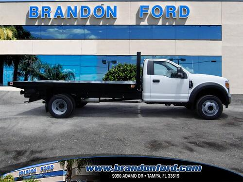 2017 Ford Super Duty F-450 DRW XL FLATBED 14 FT Tampa FL