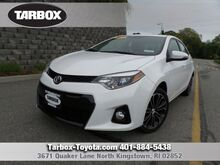2014 Toyota Corolla S Plus North Kingstown RI