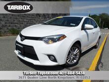 2014 Toyota Corolla LE Plus North Kingstown RI