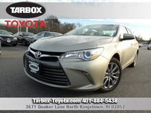 2017 Toyota Camry XLE North Kingstown RI