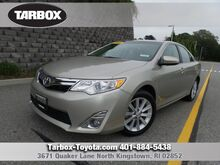 2014 Toyota Camry XLE North Kingstown RI