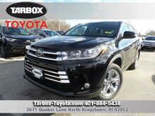 2017 Toyota Highlander Limited North Kingstown RI