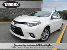 2014 Toyota Corolla LE ECO Plus North Kingstown RI