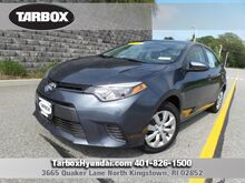 2016 Toyota Corolla LE North Kingstown RI