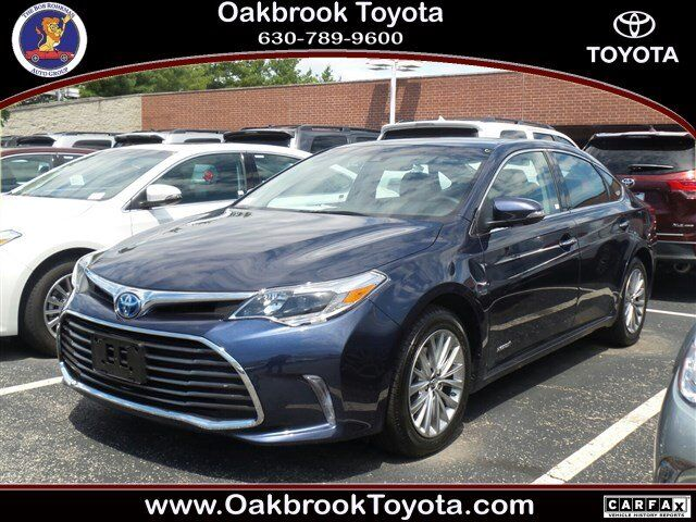 2017 toyota avalon hybrid limited westmont il 19085265. Black Bedroom Furniture Sets. Home Design Ideas