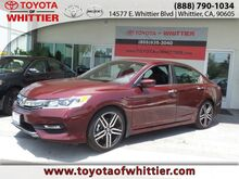2016 Honda Accord Sedan Sport Whittier CA