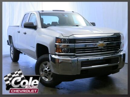 2017 Chevrolet Silverado 2500HD 4WD Double Cab 144.2
