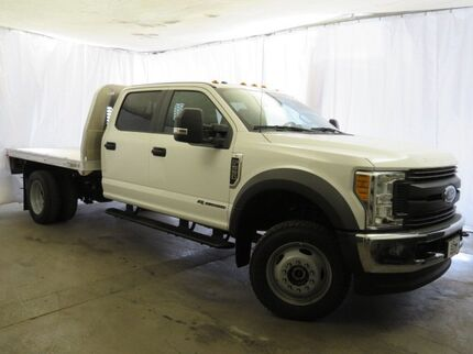 2017 Ford Super Duty F-550 DRW XL 4WD Crew Cab 179' WB 60' CA Southwest MI