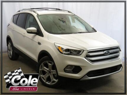 2017 Ford Escape Titanium 4WD Southwest MI