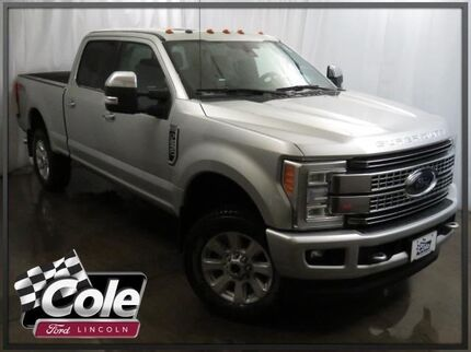 2017 Ford Super Duty F-250 SRW Platinum 4WD Crew Cab 6.75' Box Coldwater MI