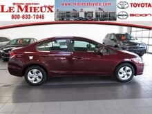 2014 Honda Civic Sedan LX Green Bay WI