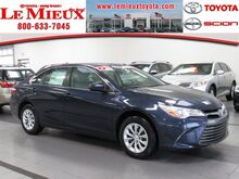 2017 Toyota Camry LE Green Bay WI