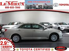 2014 Toyota Camry LE Green Bay WI