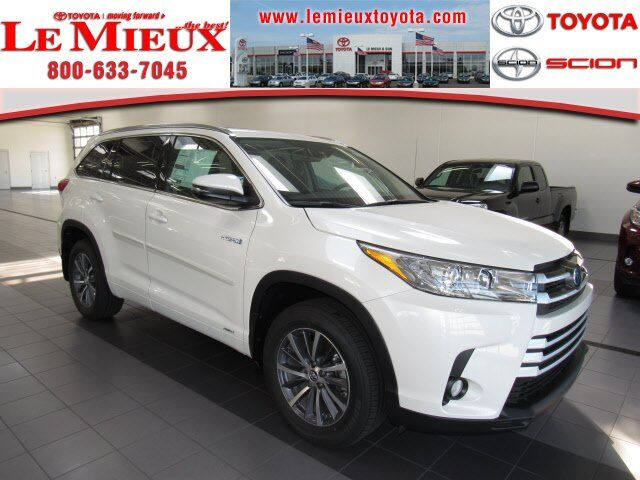2017 toyota highlander hybrid xle green bay wi 18572893. Black Bedroom Furniture Sets. Home Design Ideas
