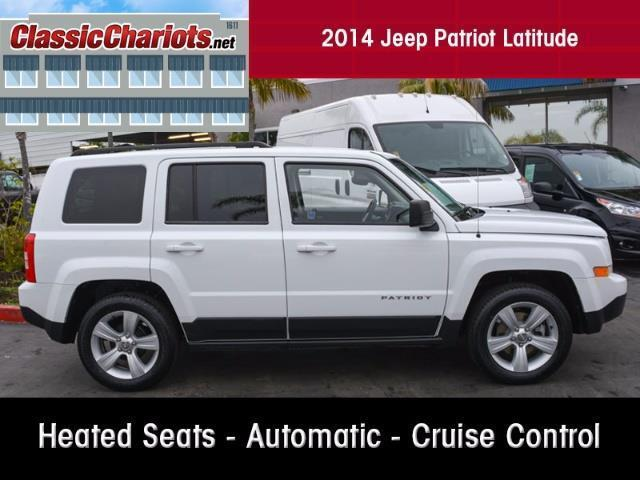 2014 jeep patriot latitude vista ca 18501721. Cars Review. Best American Auto & Cars Review