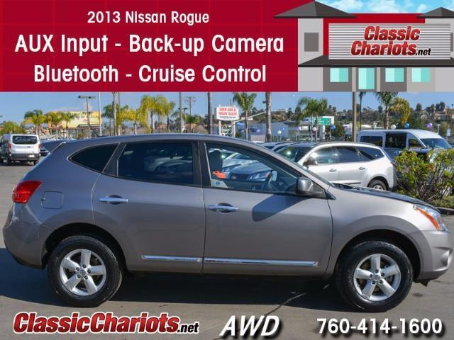 Used 2013 Nissan Rogue S AWD for Sale in Oceanside