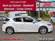 2015 Lexus CT 200h  Oceanside CA