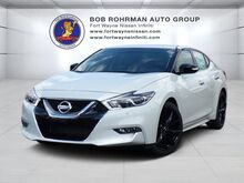 2017 Nissan Maxima SR Midnight Edition With Navigation Fort Wayne IN