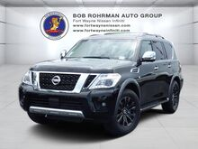 2017 Nissan Armada Platinum With Navigation & 4WD Fort Wayne IN